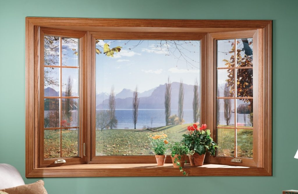Unified windows home remodeling bay window