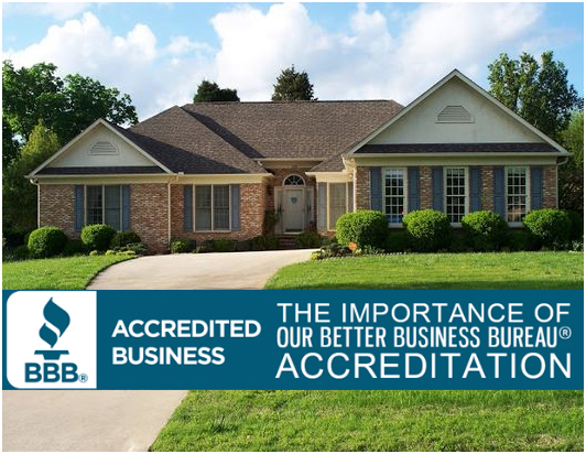 The importance of our better business bureau accreditation