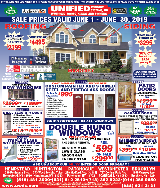 June Advertisement