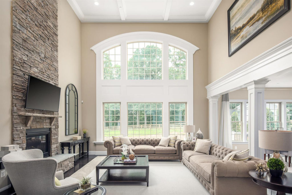 Have a custom or speciality shaped window installed in your home
