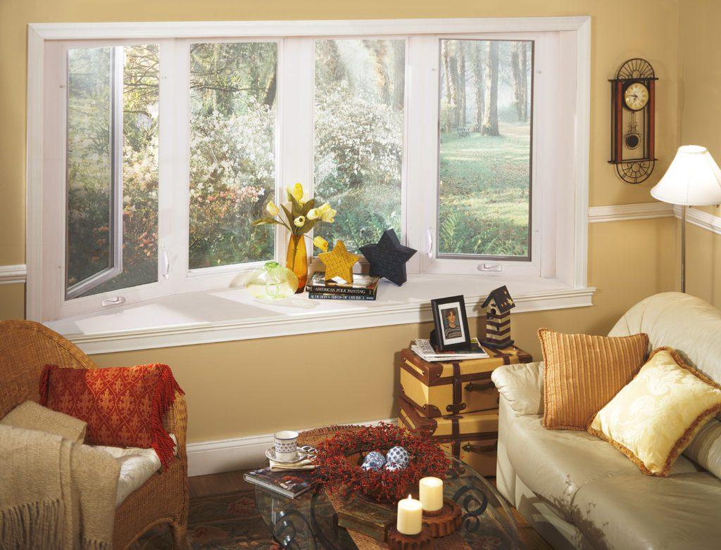 New Bow window living room