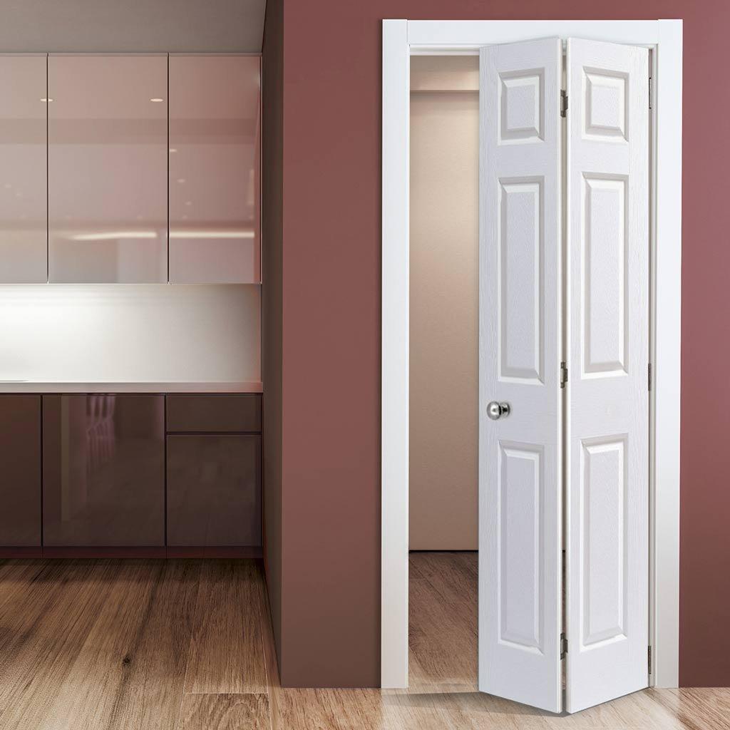 bi fold interior door for home