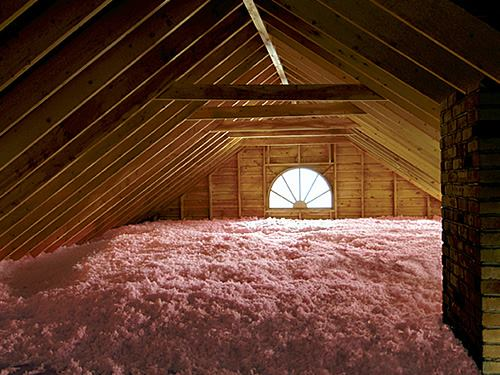 new attic insulation