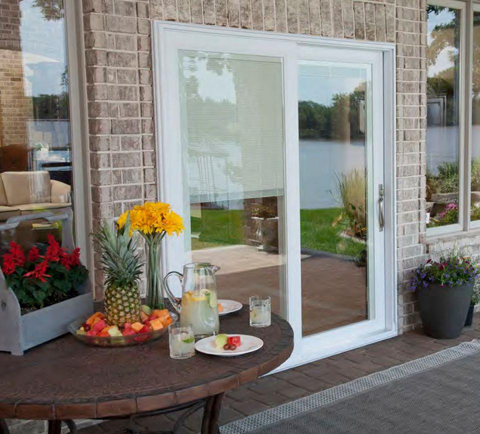 attractive patio door